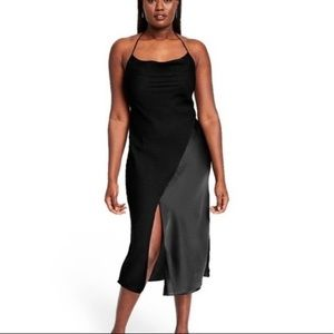 Cushnie Black Evening Halter Evening Slip Dress 12